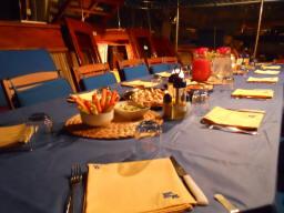 Aeolian Cruise Ship Dining Room
