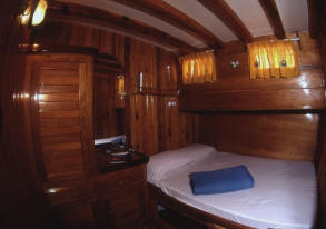 Aeolian Cruise Ship Cabin