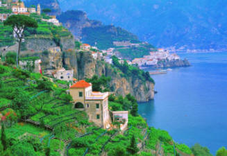 Italy ecorted tour to Amalfi