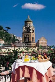 vacation in amalfi coast