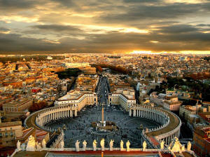 Escorted Italian tours St Peters Basilica
