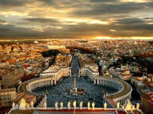 Escorted Italian tours St Peters Basilica