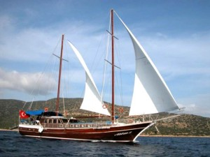 Sicily sailboat cruise