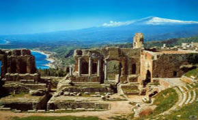 Sicily Greek Theatre Taormina