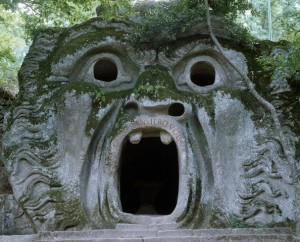 Orcus Grotto at Parco dei Mostri