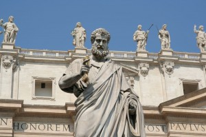 St.-Peter-statue