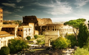 The-Colosseum-(Rome,-Italy)